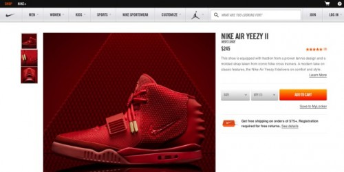 screenshot 2014 02 09 13 11 41 1 500x250 Aint No Love: Nike Drops a Surprise Online Release of the Nike Air Yeezy II