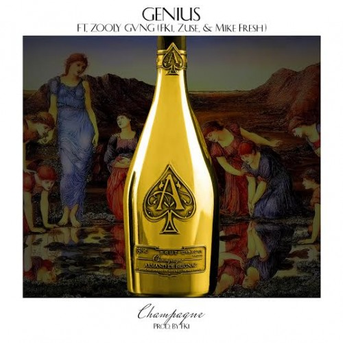 unnamed 18 500x500 GENIUS x Zooly Gvng   Champagne (Prod. by Fki)