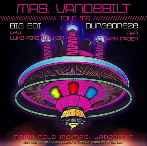 Big Boi Mrs Vandebilt Big Boi   Mrs. Vandebilt Ft. Wings, Kelly Rowland, & Little Dragon (Video)