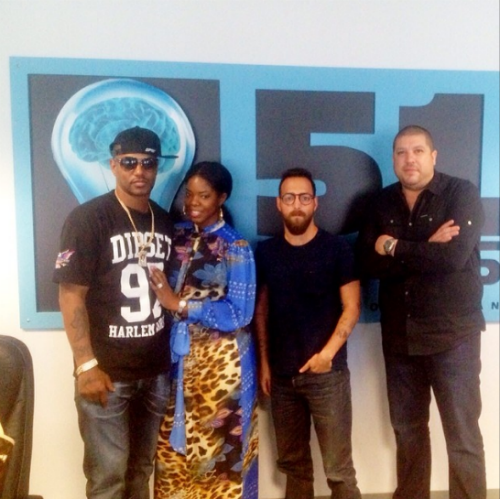 Camron JuJu VH1 Show CamRon & JuJu Meet With VH1 Reality Show Creators (Photo)