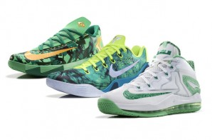 Nike Unveils The 2014 Nike Basketball Easter Collection (LeBron 11 Low x Kobe 9 EM x KD 6) (Photos)
