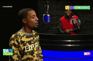 Rockie Fresh – 106 & Park's The Backroom Freestyle (Video)