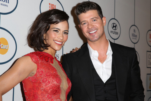 Robin Thicke Paula Patton Robin Thicke Dedicates Lost Without U To Paula Patton In Virginia  (Video)