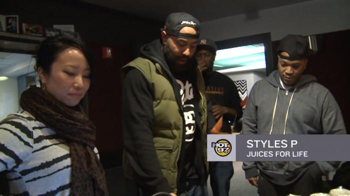 SP 1 Styles P Juices with The Hot 97 Morning Show (Video)