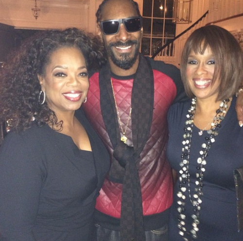 Snoop Dogg With Oprah.jpg Snoop Dogg & Oprah Make Peace After Misogyny Misunderstanding (Photo)