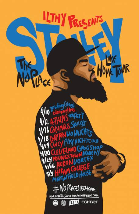 Stalley NoPlaceLikeHome Tour Flyer 2 Stalley   Long Way Down (Video)