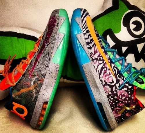 cover kd 500x457 Nike KD VI What The KD (Photos)