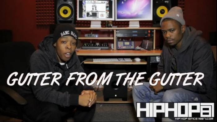 gutter2 Gutter From The Gutter Talks Being Openly Gay, Working With Ar Ab, Upcoming Mixtape & More With HHS1987 (Video)