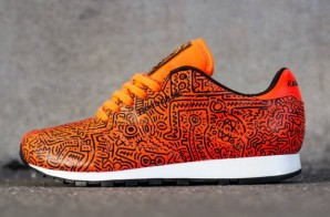 Reebok Classic Leather Unveils It's 2nd Installment Of It's Luxury Keith Haring Sneaker (Photos)