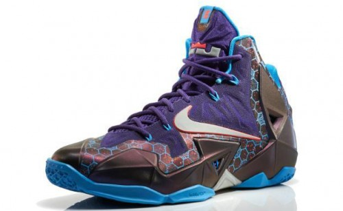 nike lebron 11 summit lake hornets 00 500x308 Nike Lebron 11 Summit Lake Hornets (Photos)