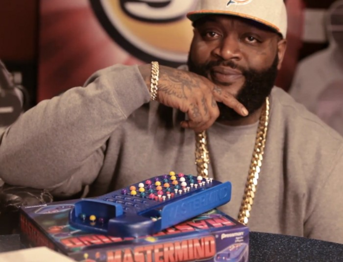 rick ross angie martinez 1 Rick Ross Plays a Game of 'Mastermind' with Angie Martinez (Video)