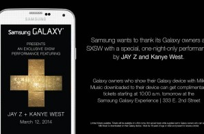 Samsung's SXSW Concert Series To Be Headlined By Jay Z & Kanye West