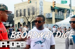 """Broadway Dice Talks his project """"The Fast Lane: In Slow Motion, Performing at SXSW Reebok Classic stage & More (Video)"""