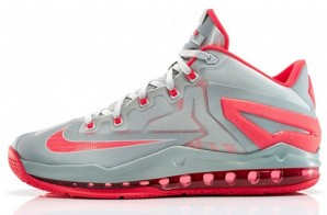 "Nike Lebron 11 Low ""Laser Crimson"" (Photos)"
