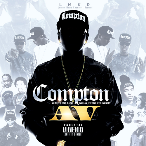 Av LMKR The Game Too hort Kurupt TeeFlii Mis front large 1 AV   Compton (Mixtape)