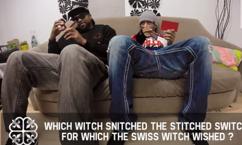 Method Man Redman Tongue Twisters Method Man & Redman Read Some Tongue Twisters (Video)