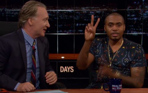 Nas On Bill Maher Nas Sits Down With Bill Maher (Video)