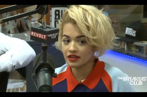 """Rita Ora Talks Starring in the film """"Fifty Shades of Grey"""" & More with The Breakfast Club (Video)"""