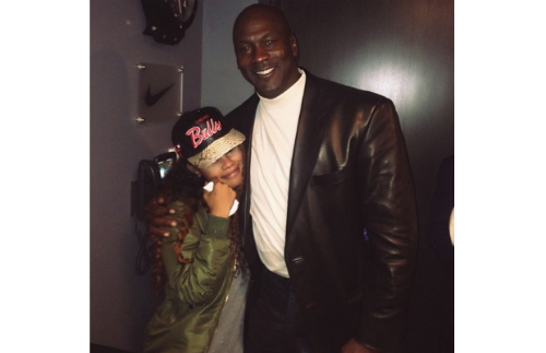 Teyana Taylor Michael Jordan Teyana Taylor Personally Asks Michael Jordan For Custom Jordan IIIs (Video)