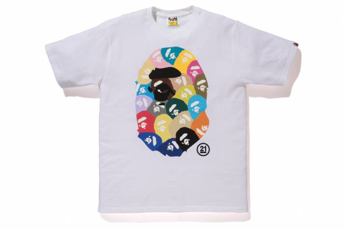 b3 BAPE Celebrates 21st Anniversary With A Special Collection Of 21 Branded Tees