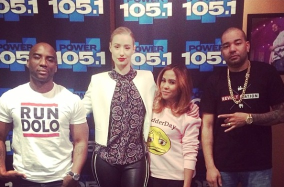 iggy azalea on the breakfast club video hhs1987 2014 Iggy Azalea On The Breakfast Club (Video)