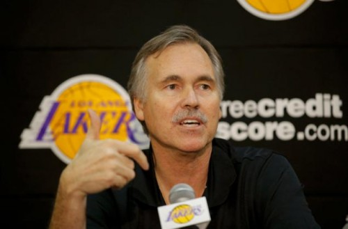 mike dantoni 500x329 Mike DAntoni Resigns as the Los Angeles Lakers Head Coach
