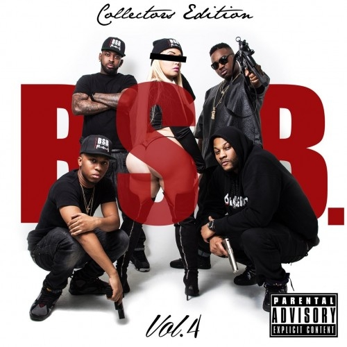 BSB Volume 4 Cover Troy Ave & BSB   BSB Volume 4 (Mixtape)