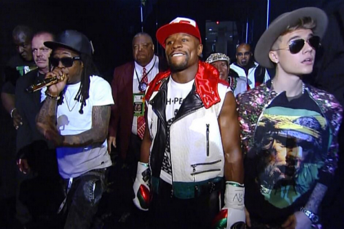 Lil_Wayne_Performs_Believe_Me_While_Escorting_Floyd_Mayweather