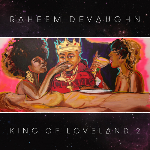 Raheem DeVaughn King Of Loveland 2 front large Raheem DeVaughn   King Of Loveland 2 (Mixtape)