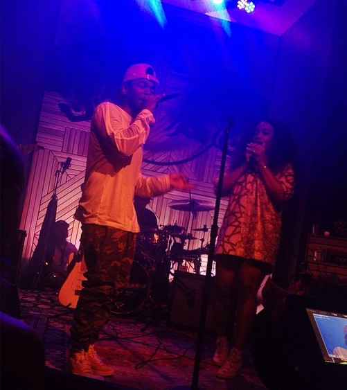 Screen Shot 2014 05 28 at 10.19.50 PM 1 SZA & Kendrick Lamar   Babylon (Live At Red Bull Studios) (Video)