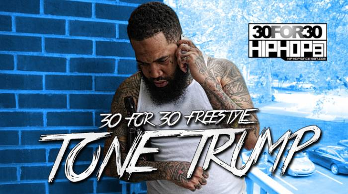 YoutubeTHUMBS MAY 147 [Day 25] Tone Trump   30 for 30 Freestyle (Video)