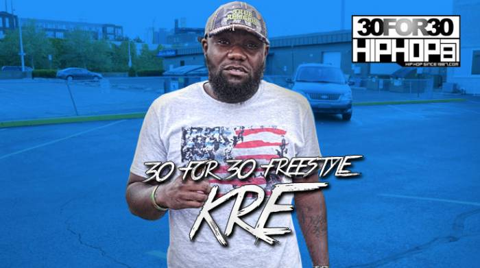 day 22 kre forch 30 for 30 freestyle video HHS1987 2014 [Day 22] Kre Forch   30 For 30 Freestyle (Video)