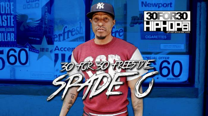day 8 spade o 30 for 30 freestyle video HHS1987 2014 [Day 8] Spade O   30 For 30 Freestyle (Video)