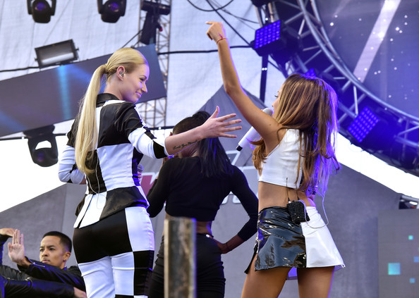 iggy ariana Iggy Azalea & Big Sean Join Ariana Grande In California (Video)