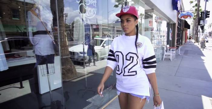 lauren london talks her fashion style more with