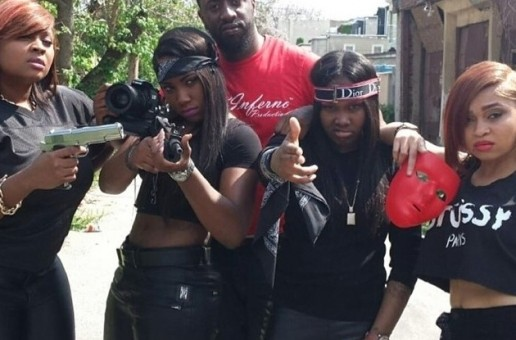 Lee Mazin, Ms. Jade, Leen Bean & Tiani Victoria – Set It Off (Behind The Scenes Photos)