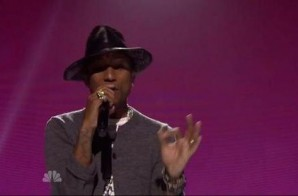 Pharrell – Medley (Live At 2014 iHeartRadio Music Awards) (Video)