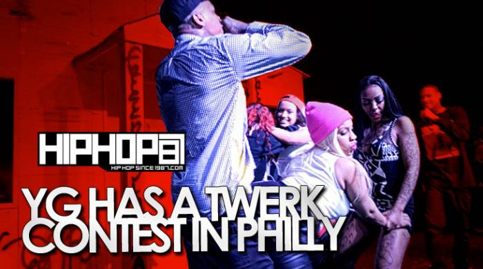 yg has a twerk contest in philly 42914 video HHS1987 2014 YG Has A Twerk Contest In Philly (4/29/14) (Video)