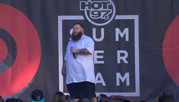 BpFGIb6CIAAx7mN 1 Action Bronson   Hot 97 Summer Jam 2014 Performance (Video)