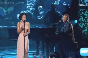 "John Legend & Jhene Aiko Perform ""You & I"" & ""The Worst"" At The 2014 BET Awards (Video)"