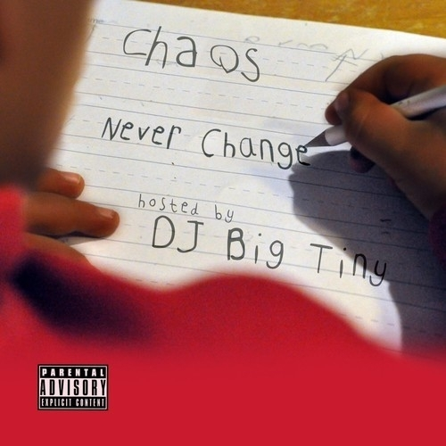 Chaos Troy Ave Michael J Lee Mazin Never Change front large DJ Big Tiny & Choas   Never Change (Mixtape)