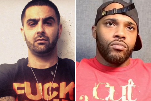 Dizaster Punches Math Hoffa At Rap Battle Dizaster Punches Math Hoffa During Rap Battle (Video)