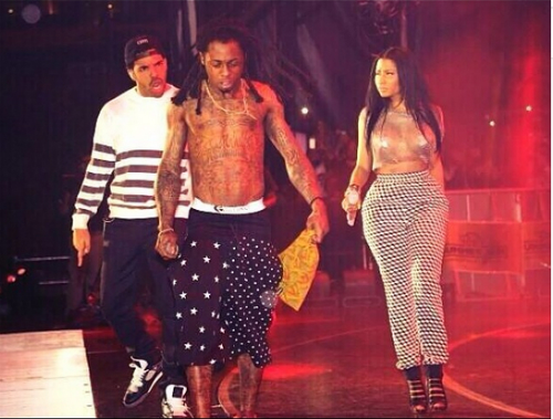 Drake Lil Wayne Join Nicki Minaj At Summer Jam Drake & Lil Wayne Join Nicki Minaj At Hot 97s Summer Jam (Video)