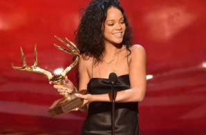 Rihanna Wins Most Desirable Woman Award At Guys Choice Awards (Video)