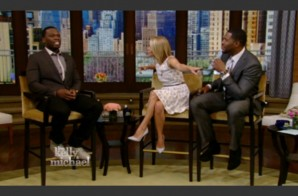Watch 50 Cent Make A Guest Appearance On 'Live With Kelly & Michael' After His Summer Jam Escapade!