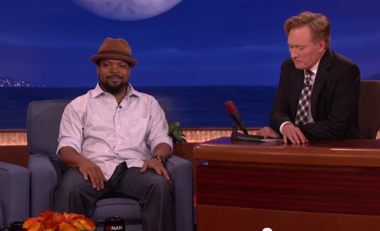 Screenshot 2014 06 18 at 10.41.55 AM 1 Ice Cube Tells Conan O Brien Kevin Hart Annoys Him & Isnt Funny (Video)