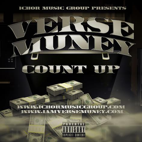 countupcoverart Verse Muney   Count Up