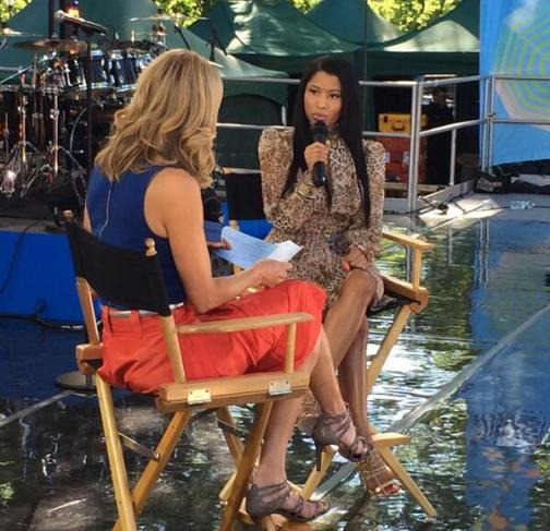 gma nicki Nicki Minaj Previews Her Forthcoming Pills N Potion Visual On GMA (Video)
