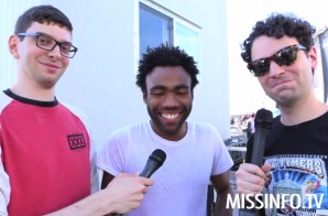 ItsTheReal Interviews Chinx and Childish Gambino At Hot 97 Summer Jam (Video)