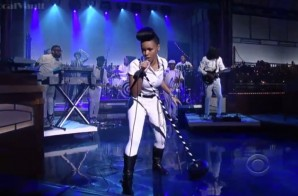 "Janelle Monae Performs ""Heroes"" on The Late Show with Letterma"